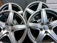 mags 17x7.5 mazda protege speed top shape!
