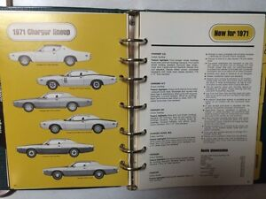 1971 Dodge dealership data books Strathcona County Edmonton Area image 3