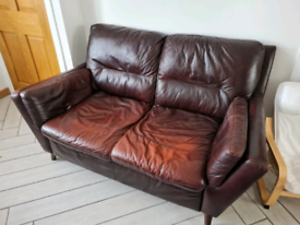 Dfs sofas and footstool