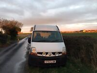 Renault Master SM33 DCI 100 High Top could be fabulous campervan or race van