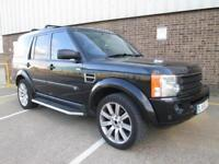 (55) LAND ROVER DISCOVERY 3 2.7TD HSE DIESEL AUTOMATIC LEATHER SAT NAV 7 SEATS