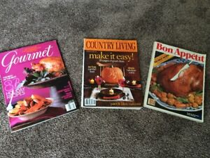 bon appetit and gourmet magazines