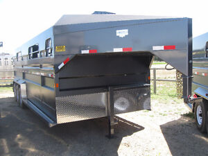 HOLIDAY BLOWOUT!!! New Norbert 24' Stock Trailer- Built To Last