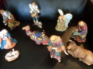 Ceramic Nativity Figures