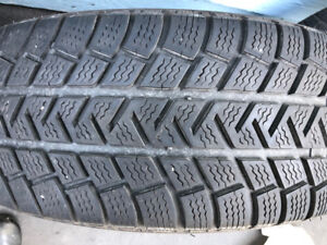 4 Michelin Altitude Alpin M/S, 225/70R16 -Great winter tire