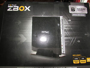 ZOTAC ZBOX P series Mini PC Intel Quad Core Atom / windows 10
