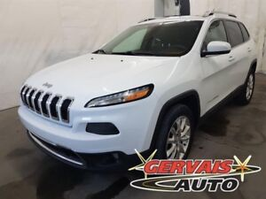 Jeep Cherokee Limited 4X4 GPS Cuir Toit Panoramique MAGS 2015