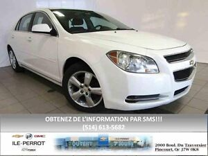 2010 Chevrolet Malibu LT, BLUETOOTH, MAGS CHROMÉS, GR ELECT, HIT