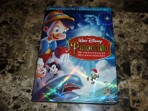 PINOCCHIO - Édition 70th anniversaire 2 DVD Disney