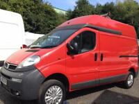 Vauxhall Vivaro 2.5CDTI 16v 2900 LWB HIGH ROOF TURBO DIESEL VAN FULL MOT+NO VAT