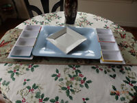 ♥ serving tray & condiment trays ♥