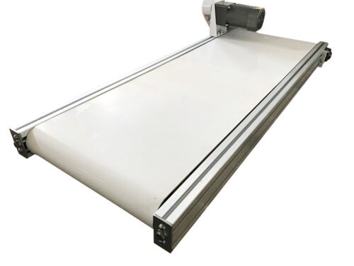 "Hot! More Wider 47.2""X15.7""White PVC Belt Conveyor Mesa Applicable for Industry"