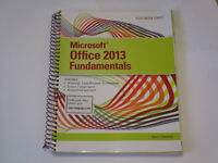 NBCC Textbook - Microsoft Office 2013 Fundamentals - Brand New!