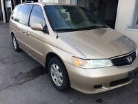 2003 Honda Odyssey EXL,full power,very clean !