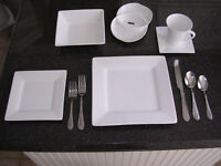 Set de vaisselles blanc Maxwell Williams