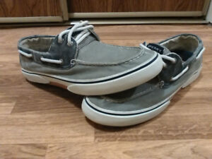 SPERRY TOP SIDER DENIM LOAFERS/BOAT SHOES - $35.00