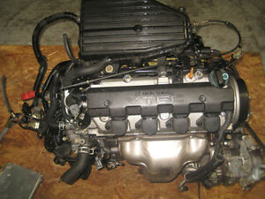 01 05 HONDA CIVIC EX SI D17A 1.7L SOHC VTEC ENGINE 5SPEED TRANS
