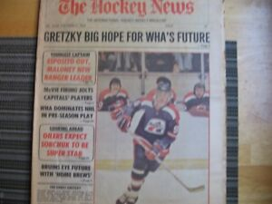 OCTOBER 27,1978 ISSUE OF HOCKEY NEWS-WAYNE GRETZKY FIRST COVER