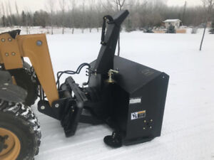TMG Hydraulic Snowblower for Tractor or Skid Steer