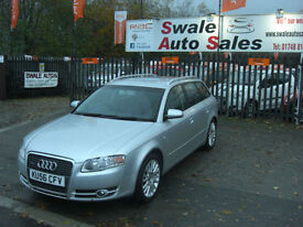 2006 AUDI A4 QUATTRO SE 2.0TDI 4WD ONLY 81,725 MILES, FULL SERVICE HISTORY