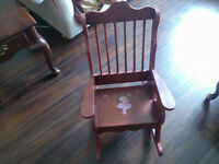 Dora rocking chair for child