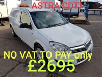 Vauxhall Astravan 1.7CDTi 16v 2007MY Club