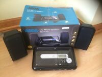 CD Micro System with Speakers Hardly Used - Excellent Condition.