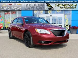 2012 Chrysler 200 Limited I Leather I Heated Seats  - Leather Se