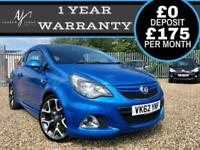 2013MY VAUXHALL CORSA VXR 1.6 TURBO ICONIC ARDEN BLUE ☆ NEW MOT ☆ LOW MILES!