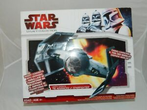 STAR WARS LEGACY COLLECTION DARTH VADERS TIE FIGHTER