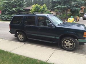 1994 Ford explorer limited edition