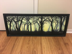 Framed, numbered giclee by New Orleans artist
