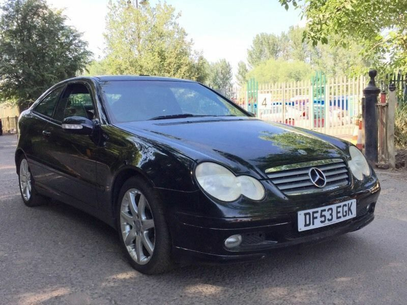 Mercedes c220 Avantgarde coupe panoramic leather