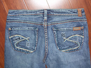 Womans Silver Jeans Mirage