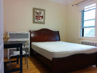 Bright big room with furniture 5 minutes to Du College Metro