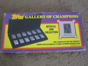 Topps Gallery of Champions  1988
