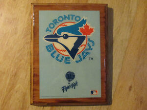 TORONTO BLUE JAYS Baseball Plaque MLB 1989 Sky High Vintage
