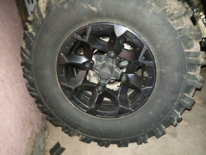 2013 Can Am Renegade 800 Rims and Tires