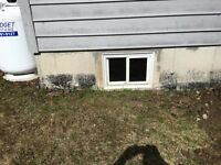 WINDOW WELL INSTALLATION AND REPAIR