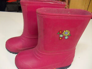 new rain boots for girl's