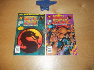 Mortal Kombat Blood and thunder-#1-july 1994-#2-august 1994