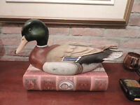 Appellants Antiques Canard Tom Taber decoy duck