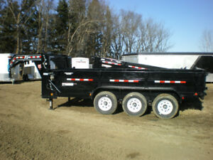 SAVE on Bumper Pull and Gooseneck Dump Trailers at Automan