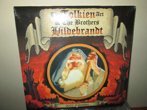 *UNOPENED* The TOLKEIN Art of The Brothers Hildibrandt..