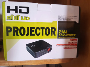 HD LED projector new in box!