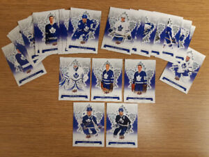 29 different cards from 2017 Toronto Maple Leafs Centennial set