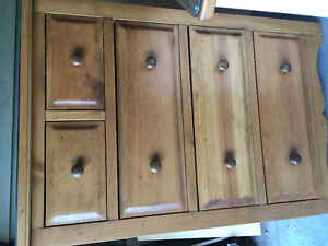 True North Chest of Drawers and Night Table