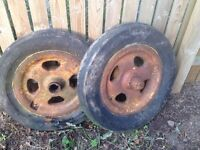 Fordson major wheels