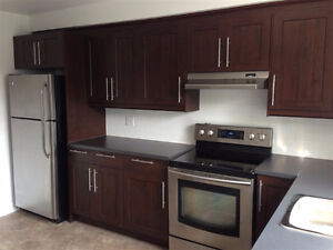 Renovated 4 1/2 on 2nd floor with 2 balconies. Available July1st