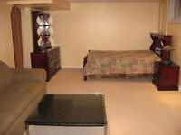 2 BD FURNISHED BASEMENT APPARTMENT FOR RENT
